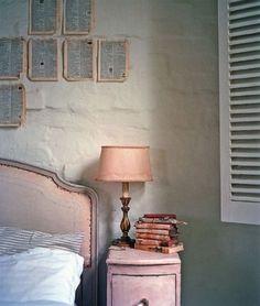 pintar una mesilla de noche vintage en rosa y dorado   Bohemian and Chic