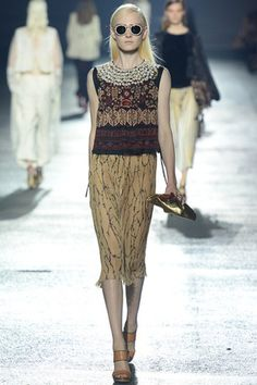 Dries Van Noten via Vogue.co.uk #PFW