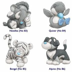 My Blue Nose Friends – AestheticPins Tatty Teddy, Teddy Bear, Cute Animal Drawings, Cute Drawings, Cute Images, Cute Pictures, Baby Animals, Cute Animals, Blue Nose Friends