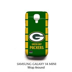 Green Bay Packers Samsung Galaxy S4 Mini Case Wrap Around