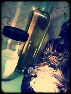 Exfoliate naturally with homemade Baking Soda Scrub!