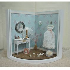 2008, Miniature wedding dress♡ ♡ My Dollhouse