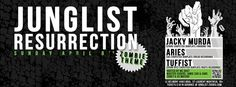 Junglist Resurrection: Zombie themed dance party in Montreal. AWESOME idea.