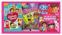 #CrazyCupid Hop Valentines Day Giveaway: Win 3 DVD's from Nickelodeon | Ends 2.15