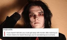 Image result for my chemical romance tumblr posts
