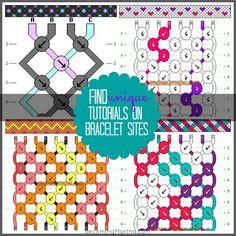 Friendship Bracelet Pattern Instructions | friendship+bracelets+3.jpg