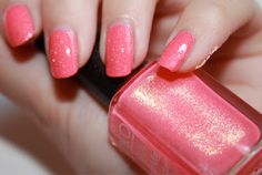 Top coated pink sugar mat by diamant sur l'ongle
