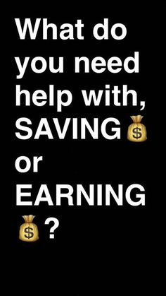 Comment below Saving or Earning. Thanks. - http://ift.tt/1HQJd81