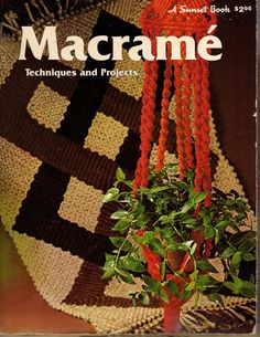 MACRAME TECHNIQUES and PROJECTS    Vintage 1975    by BunnysLuck, $4.00