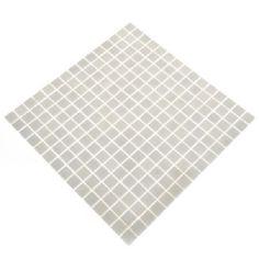 Glass mosaic light grey a75
