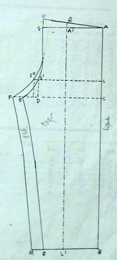 gambar pola celana piyama berikut keterangannyaTutorial menjahit lengkap