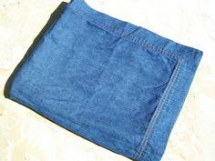 The Company Store 1 Denim Standard Pillow Sham Euc Light Weight Medium Blue - Pillow Shams