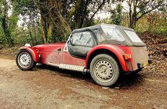 The daily grime war paint Caterham Super 7, Lotus Sports Car, Vintage Cars, Antique Cars, Lotus 7, Lotus Exige, Car Magazine, Kit Cars, Classic Cars