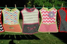 Reversible Child's Smock Tutorial using Riley Blake Designs Quilted Cotton: Jina's World Of Quilting