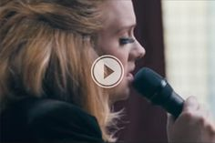Adele's newest song 'When We Were Young' live from Church Studios