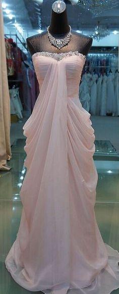 High Quality Prom Dress Chiffon Prom Dress A-LineProm Dress Strapless Prom Dress Sequined Prom Dress
