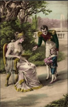 The Bonaparte family Marie-Louise, Napoleon and the little one Tumblr
