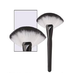 Makeup BrushBeautyVan Large Fan Goat Hair Blush Face Powder Cosmetic Brush * You can get additional details at the image link. (Note:Amazon affiliate link)