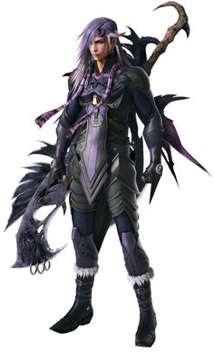 Caius Ballad (XIII-2) 2nd fav ff villain, but def the most attractive one lol ;)