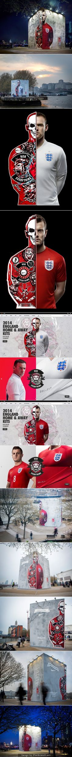#branding #design #digital #integrated #nike #riskeverything
