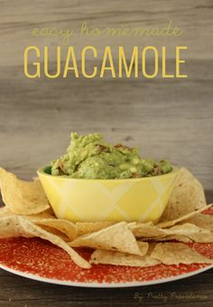 pretty providence easy homemade guacamole the best homemade guacamole ...