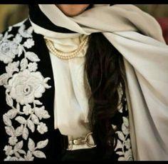 Ribbons Abaya