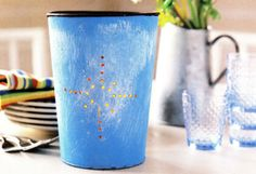 Sap Bucket Luminaries 52 Weekend Decorating Projects