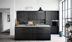 Lowes can help you come up with new kitchen tile ideas that will make your space look brand new. Living Room Kitchen, Kitchen Interior, Interior Design Living Room, Kitchen Decor, Kitchen Tiles, New Kitchen, Black Kitchens, Home Kitchens, Kitchen Black