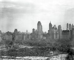 Incríveis imagens capturam New York durante a Segunda Guerra Mundial