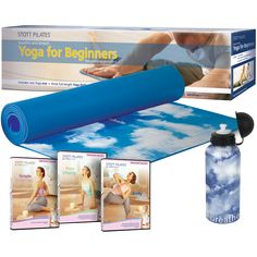 Stott Pilates Yoga for Beginners Workout Kit, Everything needed to create the ideal At Home fitness program. Yoga for Beginners Workout Kit Includes: Bikram Yoga, Vinyasa Yoga, My Yoga, Pilates Yoga, Home Exercise Program, Workout Programs, Beginning Yoga, Christmas Gifts For Adults, Yoga Gifts