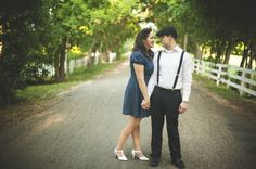 1950s engagement session retro pin-up the notebook pictures (5)
