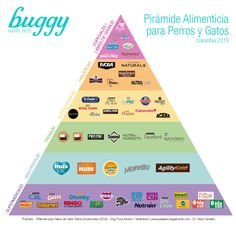 Si quieres conocer la #calidad de la #comida que le das a tu #peludo, esta #pirámide es una guía. Actualizada con la mayoría de las marcas vendidas en #Colombia. #dogfood #dogs #perros #pets #mascotas #comidaparaperros