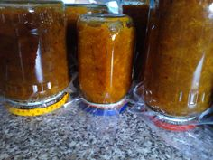 Here are the apricot jam