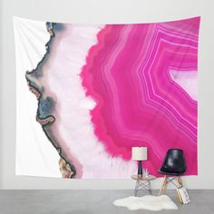 Buy Pink Agate Slice Wall Tapestry by cafelab. Worldwide shipping available at Society6.com. Just one of millions of high quality products available.