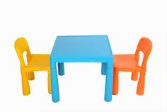 Bố mẹ đã biết kích thước chuẩn khi mua bàn ghế nhựa cho bé