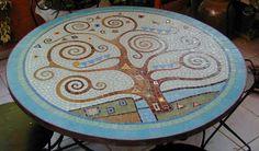 Mosaicos mesa