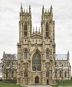 Iglesia parroquial de Beverley,Yorkshire
