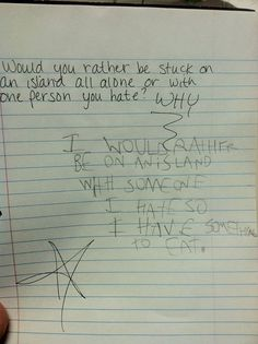 16 Of The Darnedest Things Kids Wrote At School