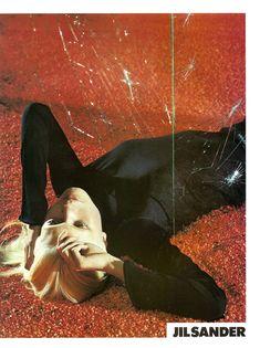 Malgosia Bela by Mario Sorrenti for Jil Sander | Spring 2000