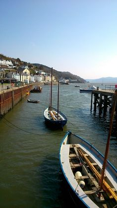 "~Aberdyfi, Gwynedd, Wales. Beneath the jetty in Aberdyfi Harbour is an art installation consisting of a bronze bell, which is rung by the water at high tide inspired by the folk song ""Clychau Aberdyfi""."