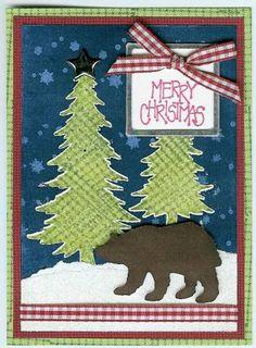 bear card scrapbook card ideas pinterest bears cards and