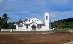 Church in Kosrae_front view