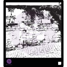"""Just look at this amazing, unique stencil! This one is """"Stone Wall II"""" and incorporates beautiful antique stonework. Use with Color Bloom sprays, Chalk Edgers, gesso, paste, or ANY art medium you love for gorgeous results. Product #575946. #mixedmedia #papercrafts #scrapbooking #stencils #artjournaling #NEW"""