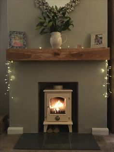 Excellent Cost-Free Fireplace Hearth black Tips New woodburner Cottage Living Rooms, New Living Room, Home And Living, Living Room Decor, Log Burner Living Room, Living Room With Fireplace, Empty Fireplace Ideas, Fireplace Hearth, Stove Fireplace