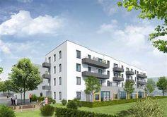 Betreutes Wohnen im neuen Quartier, Freiburg-Brühl. Hier fühlt man sich wohl! Es entstehen 21 komfortable Eigentumswohnungen. Geplant sind 1-, 2- und 3-Zimmer-Wohnungen zur Eigennutzung oder Kapitalanlage.  Jeder Wohnung ist ein Tiefgaragenplatz zugeordnet. Das angeschlossene Pflegeheim ergänzt das zeitgemäße Konzept.