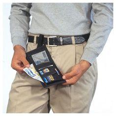 Secret Hidden Sliding Belt Loop Wallet