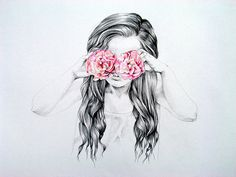 see the world through rose colored glasses.