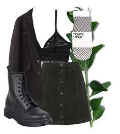 """""""thanks for the memories"""" by qimmig on Polyvore featuring Topshop, Monki, Étoile Isabel Marant and Dr. Martens"""