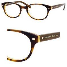 Kate Spade Fallon Eyeglasses-0JMD Tortoise Gold-47mm Kate Spade Frames, Prescription Sunglasses, Tortoise, Eyeglasses, Eyewear, Brown, Womens Fashion, Pink, Gold