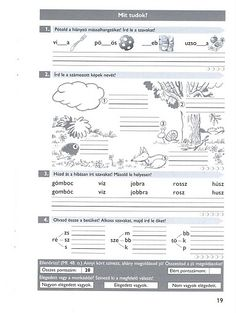 Album Archive - Gyakoroljuk a helyesírást Grammar, Worksheets, Sheet Music, Study, Classroom, Journal, Album, Activities, Teaching